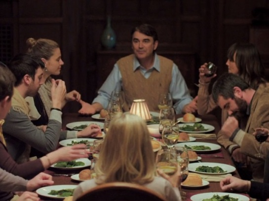 You're Next has its big family re-union (screenshot from the movie)