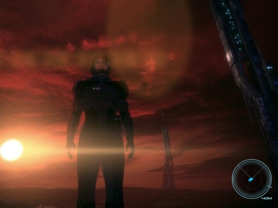 Spare some time to look at the world of Mass Effect - gaming can wait :D
